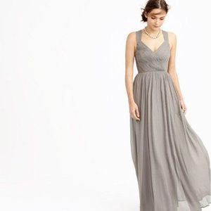 Jcrew Anabel Chiffon Dress